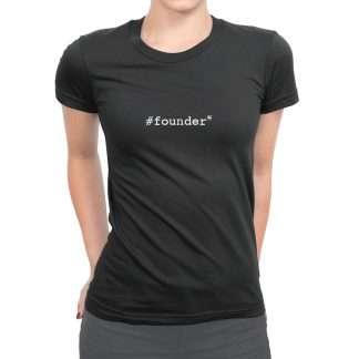 Womens Venturr T Founder Black