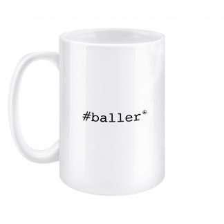 Mug 15oz Baller Left