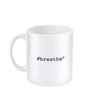 Mugs 11oz Breathe Left side